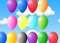 Gry losowe - Baloniki